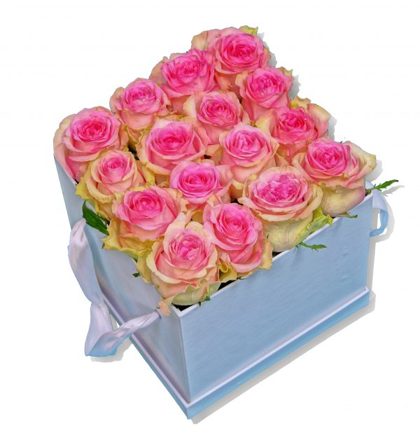 Flowerbox rosa